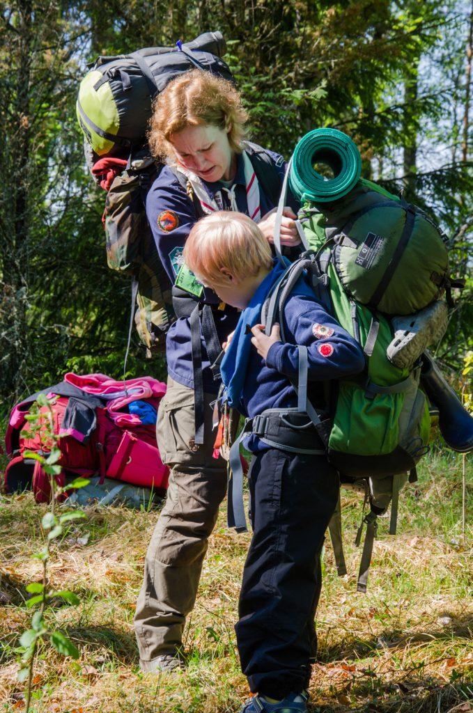Aika siirtyä telttapaikoille