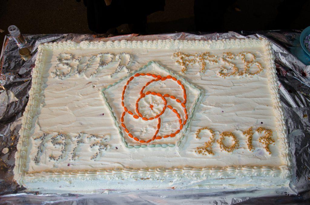 Kakku on valmis syötäväksi