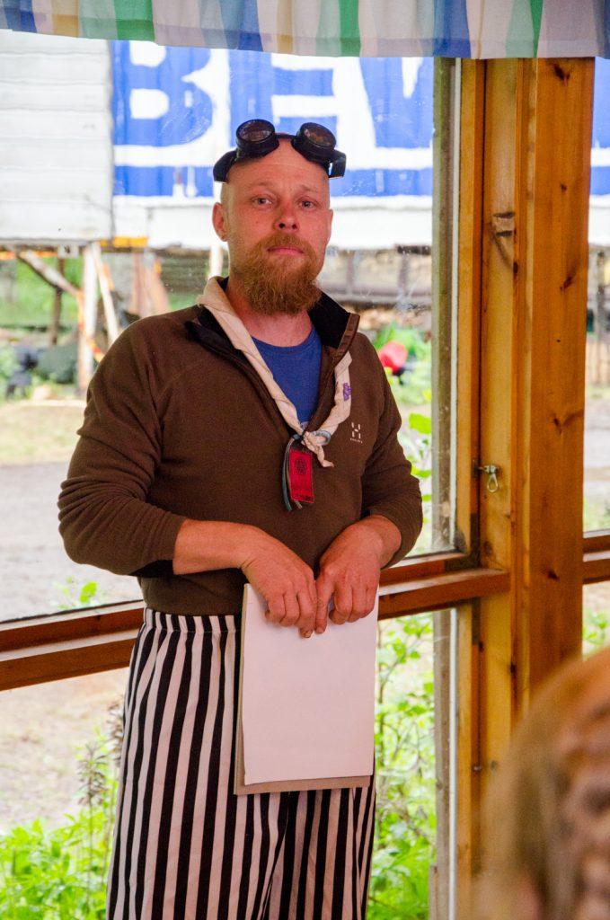 """Iltaohjelman vetäjä Kristian """"Krisse"""" Krober"""